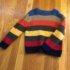 NWOT Striped Pullover Sweater